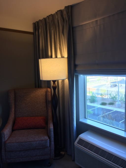 Hilton Garden Inn Hotel Room Seating Area