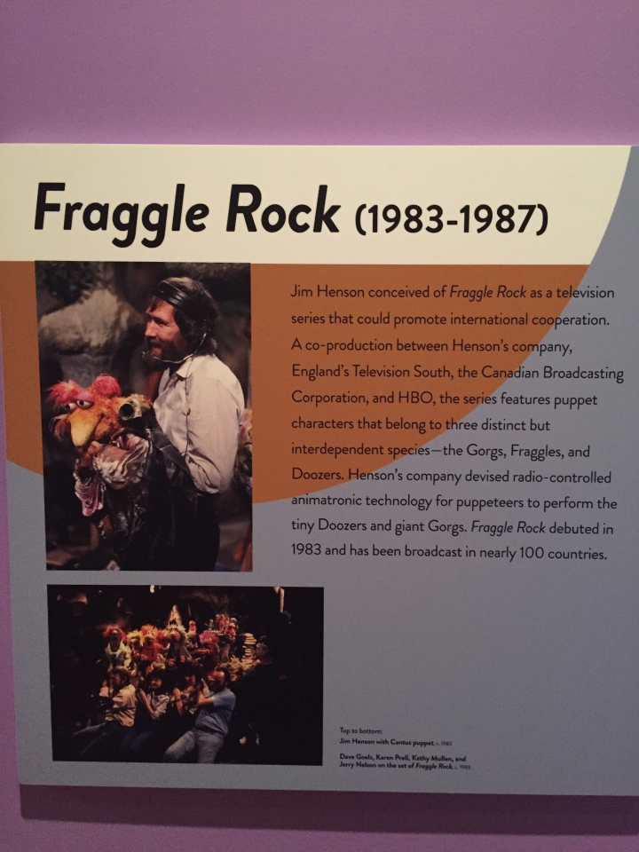 Skirball Cultural Center, Jim Henson, Fraggle Rock History,