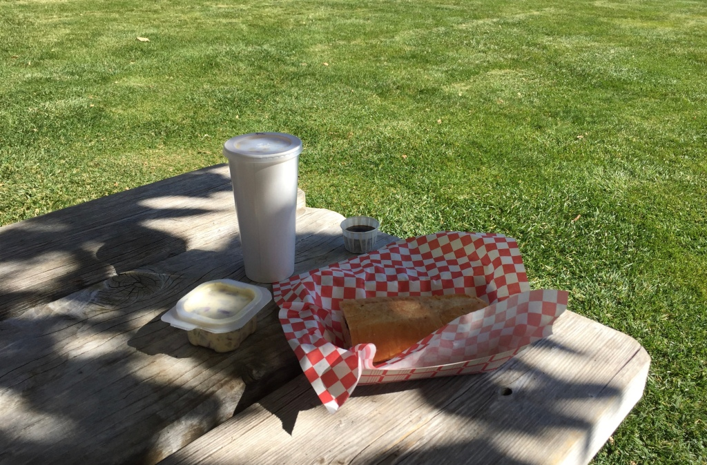 Apple Picking And Farm Activities, San Bernardino, Rib-tip sandwich combo