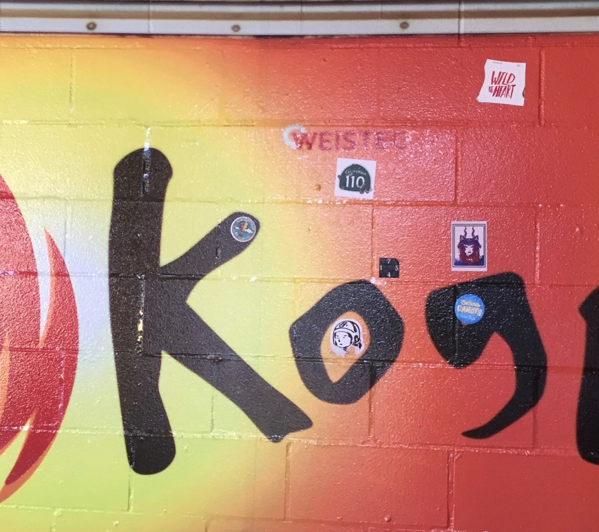 Kogi BBQ Wallart, Kogi BBQ Taco Review