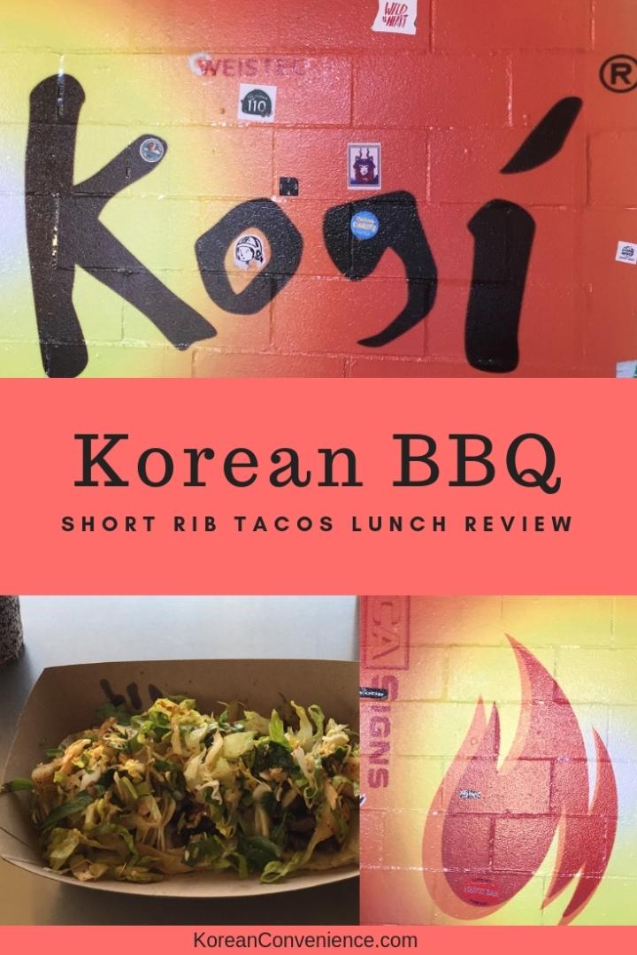 KoreanBBQ Tacos