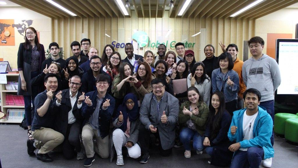 Seoul Global Center Startup Business School Class