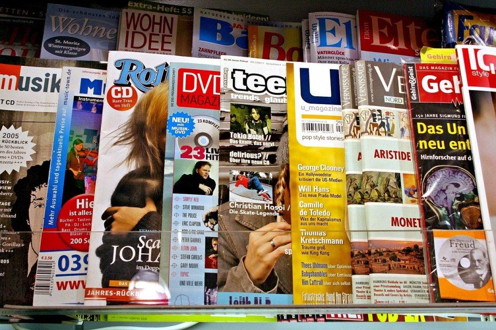 Press Magazine Newstands
